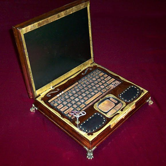 The Steampunk Laptop 2