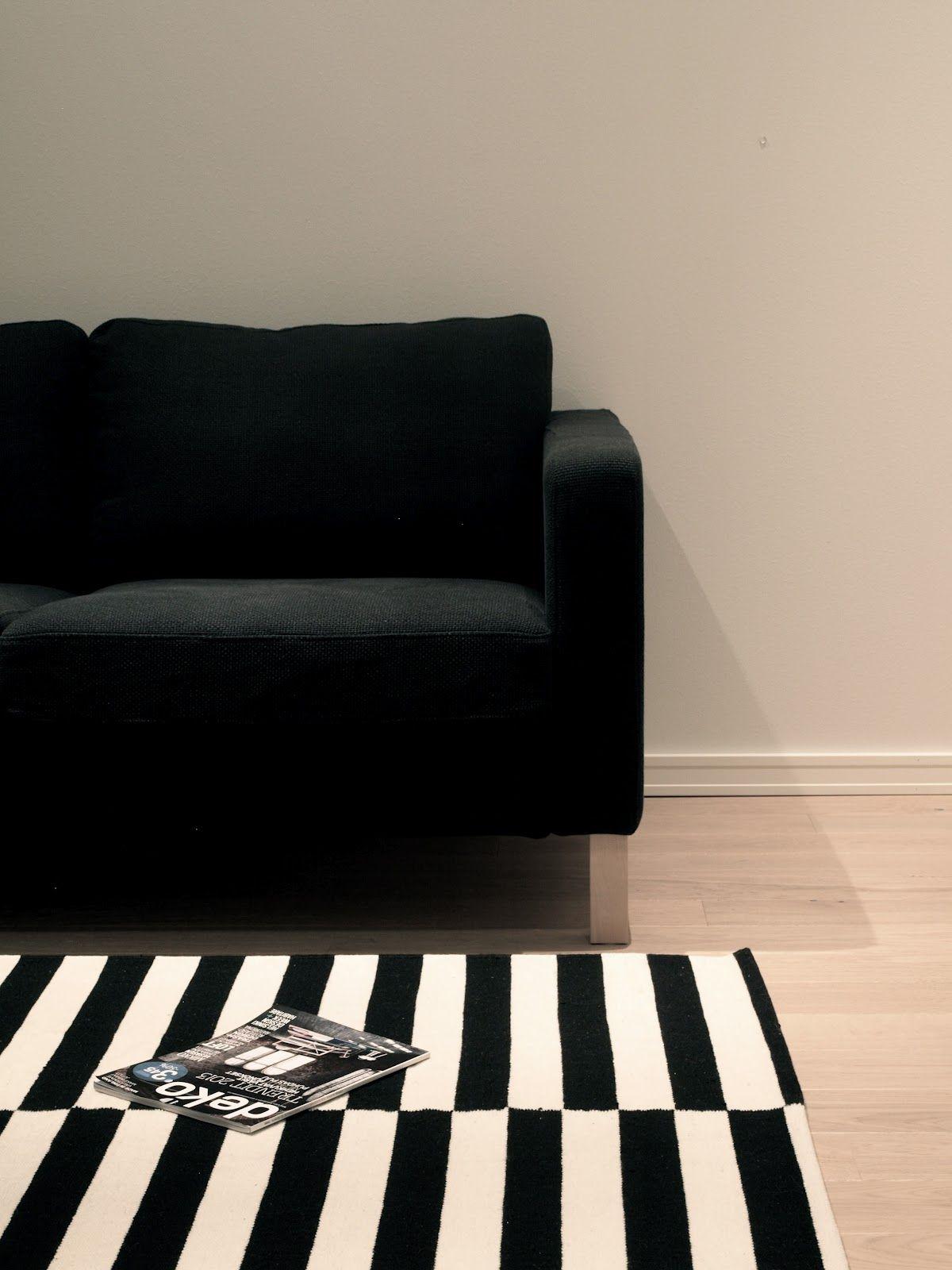 "Finnish Deco: Ikea Stockholm Rand - ""Blogimatto"""