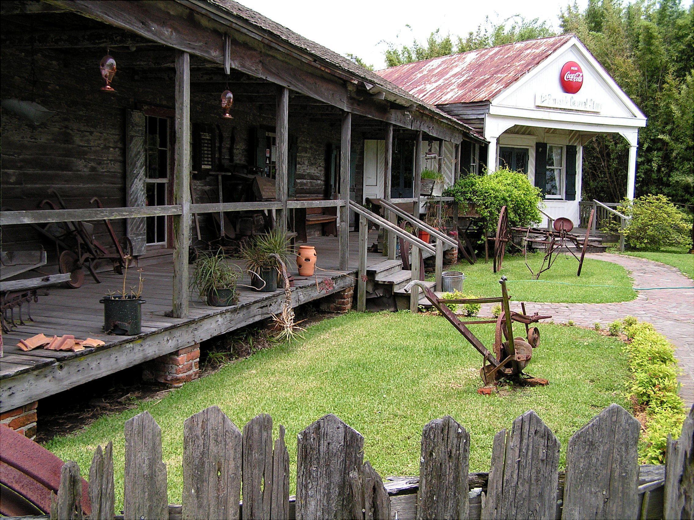 The Cajun Village Near Sorrento Louisiana Circa 2005