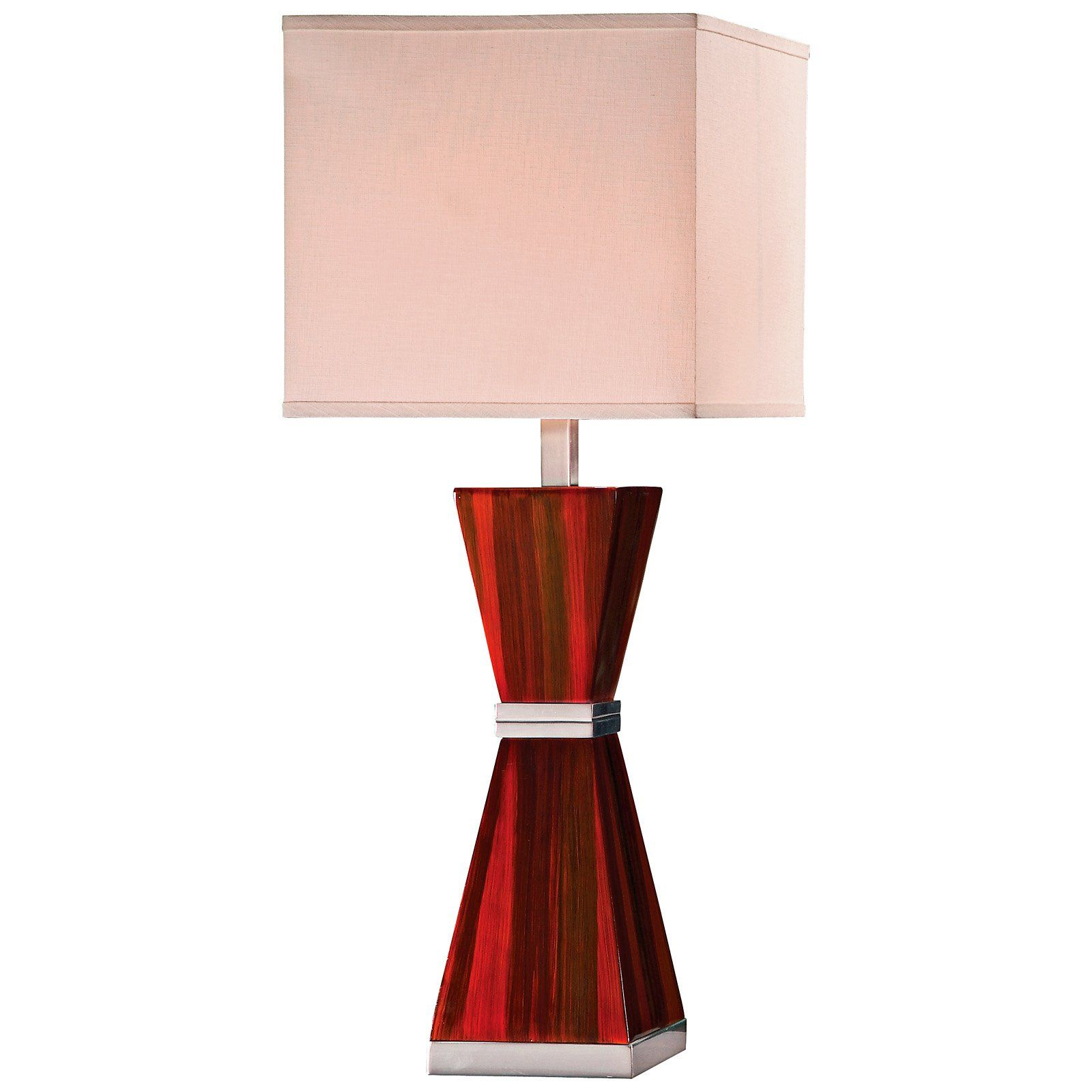 Sorrel P9630bng 123 Red Brown With Antique Silver Table Lamp For The Home Silver Table Lamps Silver Table Table Lamp