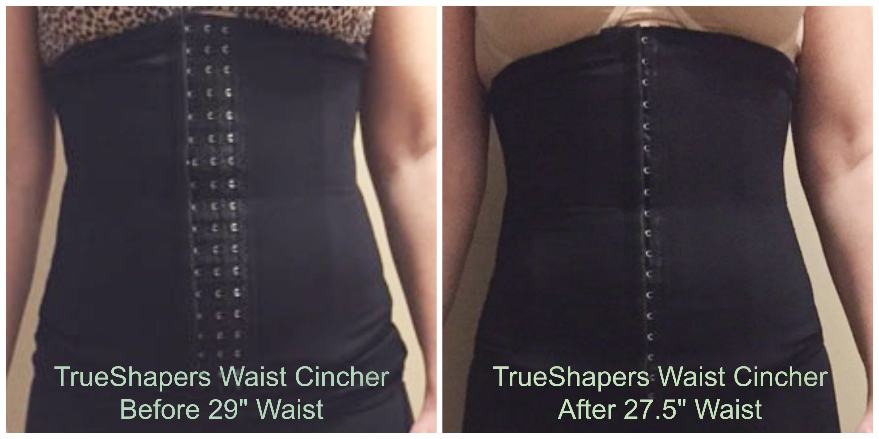 787f512ae7149 Before   After Shapewear Review TrueShapers Waist Cincher