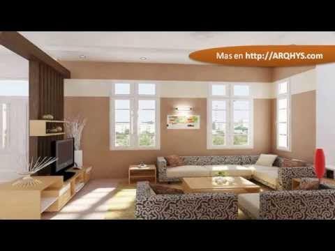 Ideas de pintura para la casa youtube sala crema decorar salon pintar la sala y salones - Pinturas para salones pequenos ...