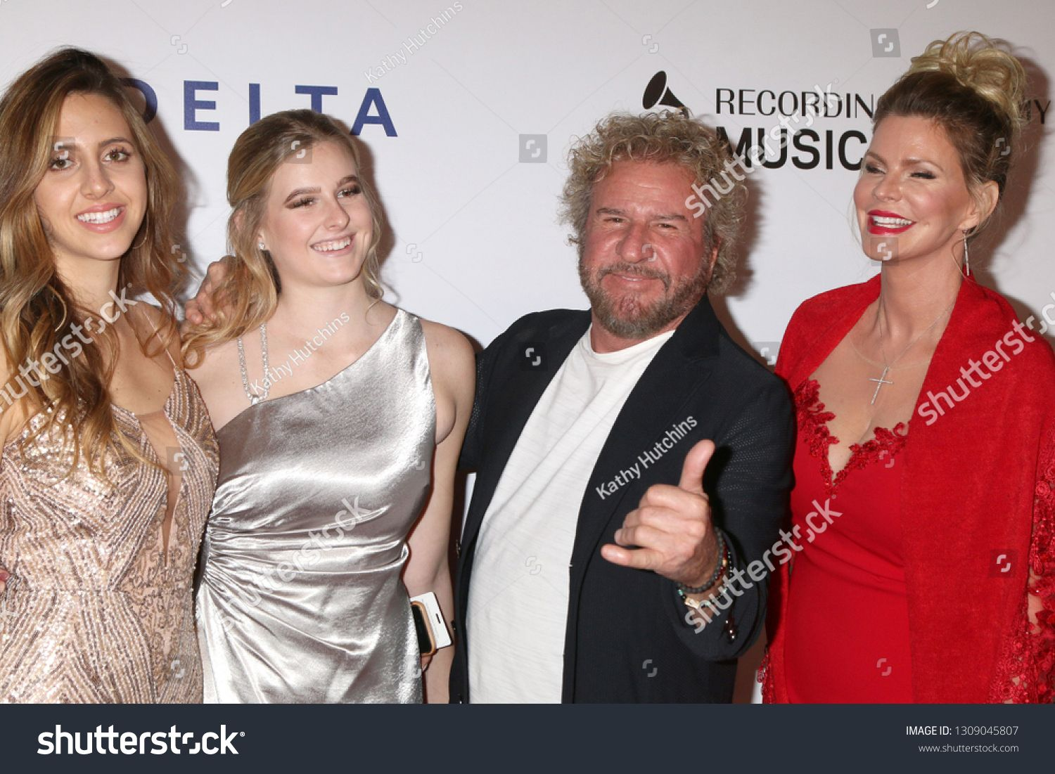 Los Angeles Feb 8 Samantha Hagar Kama Hagar Sammy Hagar Kari Karte At The Musicares Person Of The Ye Photo Editing Stock Photos Royalty Free Stock Photos