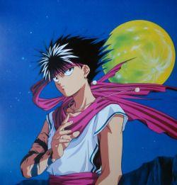 Anime 90s 90s Kid Official Art Vincent Yu Yu Hakusho Hiei Yuyu