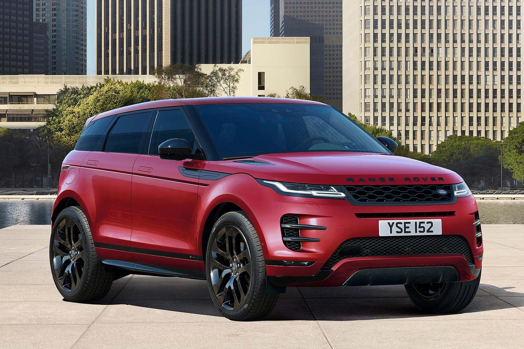 2019 Range Rover Evoque Range rover evoque, Red range