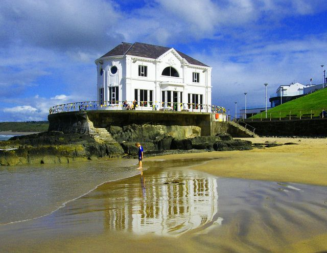 Arcadia, Portrush, Northern Ireland. Happy memories of sand, sea and getting a founderin'.