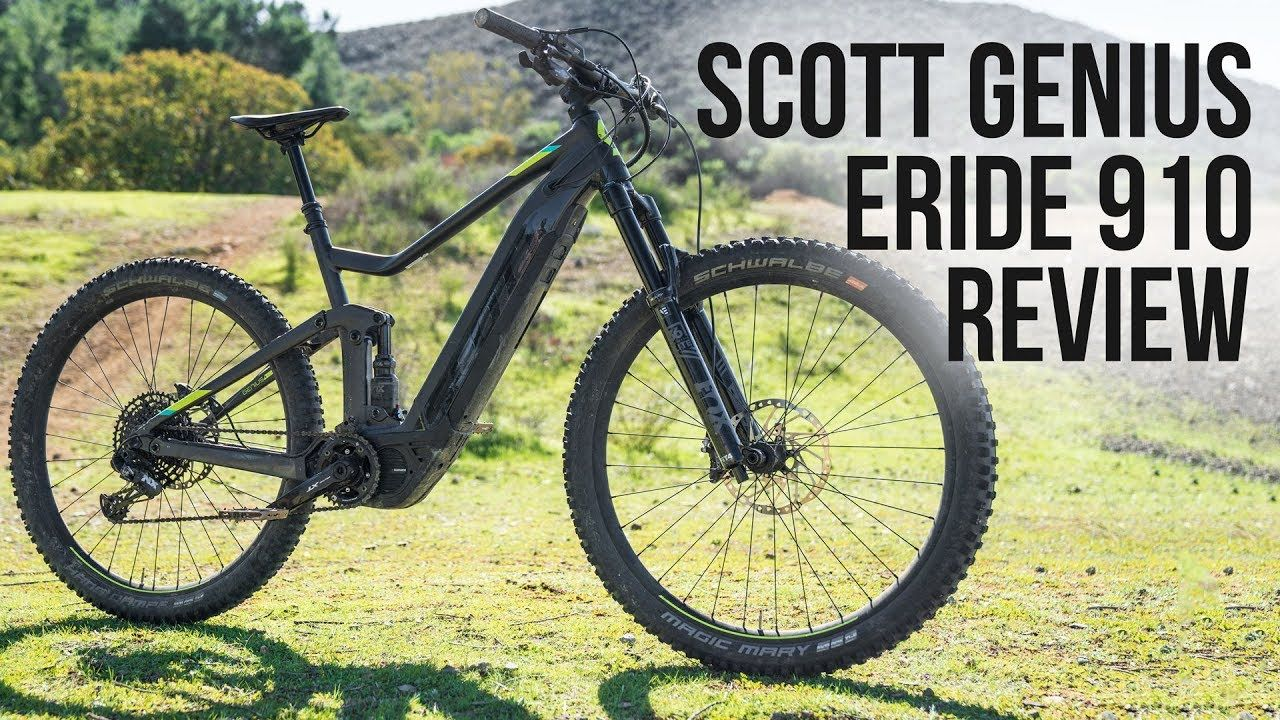 Scott Genius Eride 910 Review Genius Future Transportation Scott
