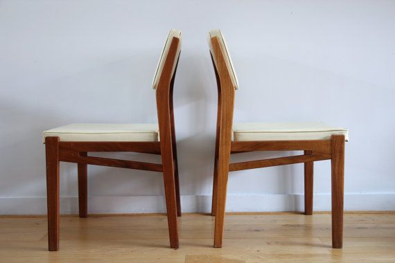 DUTCH DESIGN Topform Danish chairs