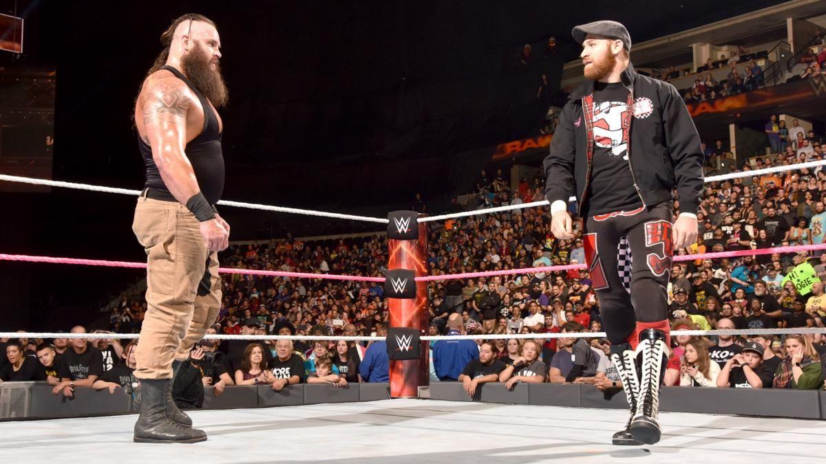Braun Strowman vs. The Mile-High Trio: photos