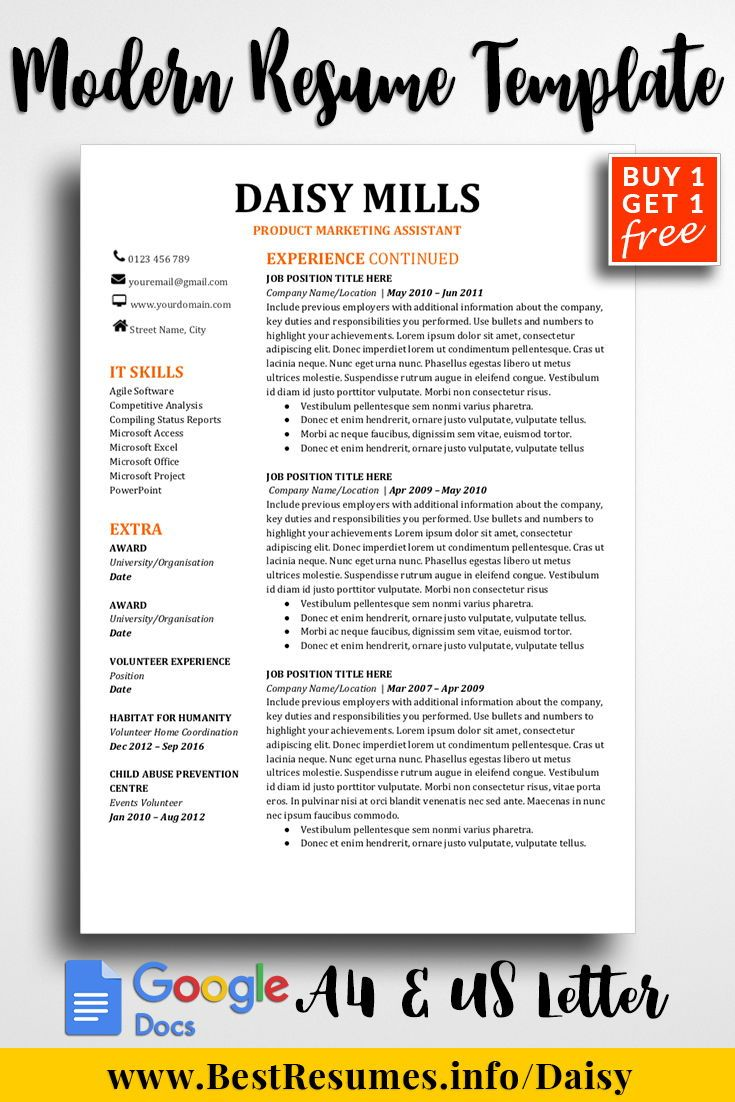 Competitive Analyst Sample Resume Magnificent Resume Template Daisy Mills  Resume Templates Inspiration And .