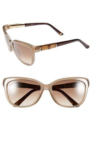Gucci 55mm Bamboo Temple Sunglasses  9c04336481a