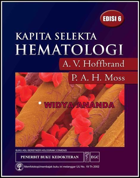 Kapita Selekta Hematologi Ed  6 A V Hoffbrand dkk Ukuran Buku 21,0 x