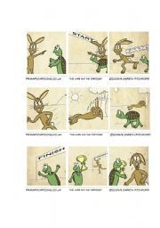 Perseverance The Tortoise And The Hare Printables With Images