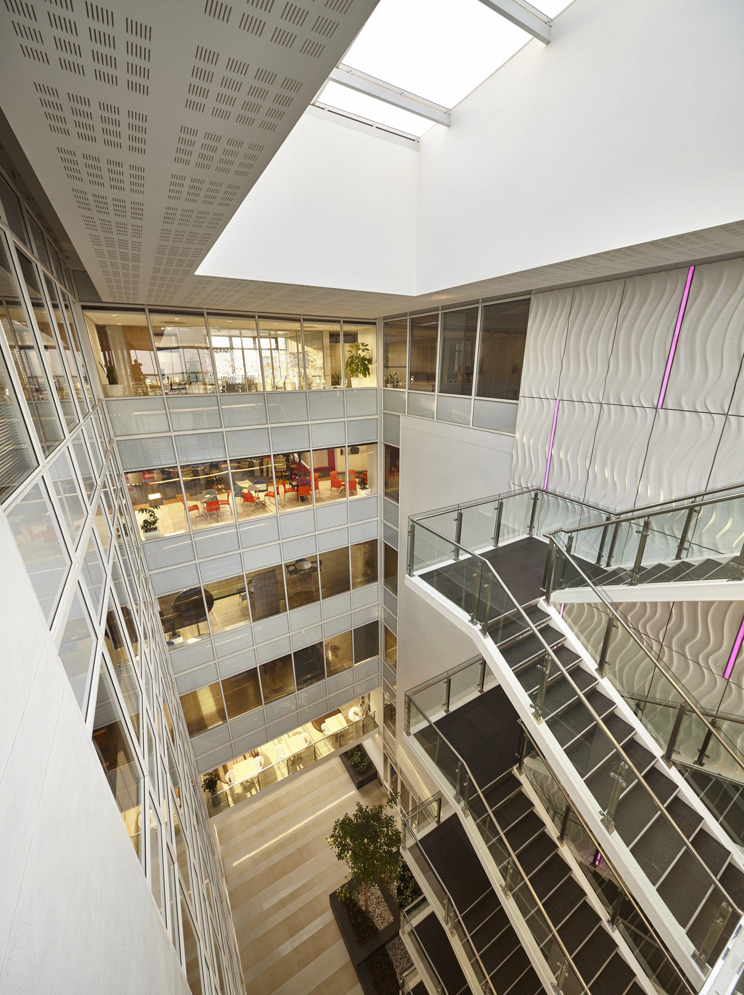 #EPA #RewardsCo #Commercial #Office #Umhlanga #Barcode #Façade #Glass #Landmark #Atrium