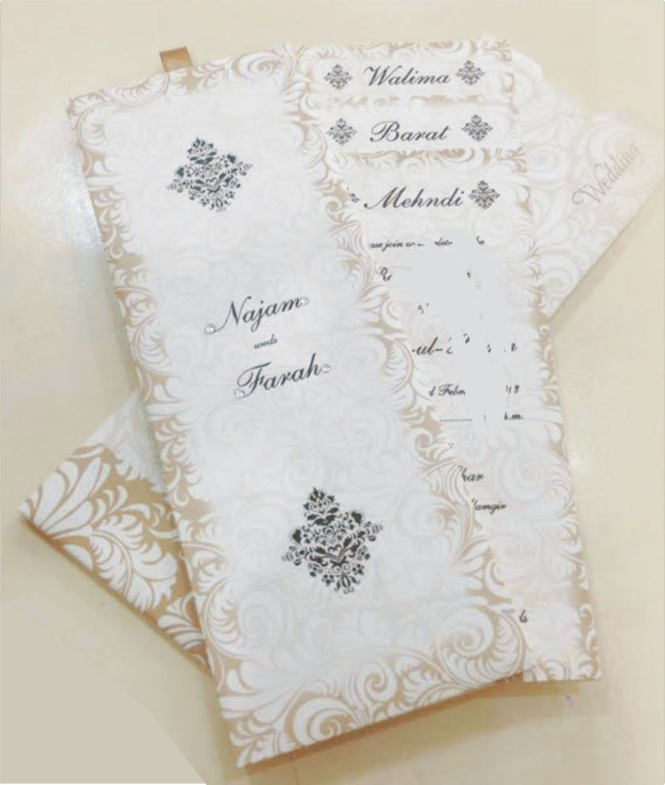 New Customized Wedding Cards Lahore Pakistan Wedding Cards