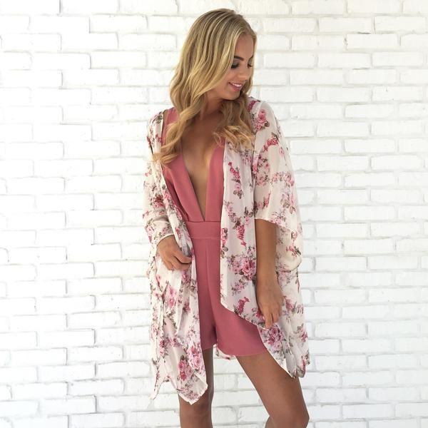 Be Mine Floral Kimono