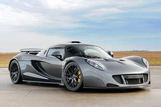 World S Fastest Car Hennessey Venom Gt Super Cars Hennessey