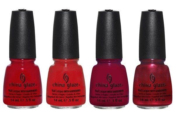 China Glaze Holiday Joy 2012 Nail Polish Collection