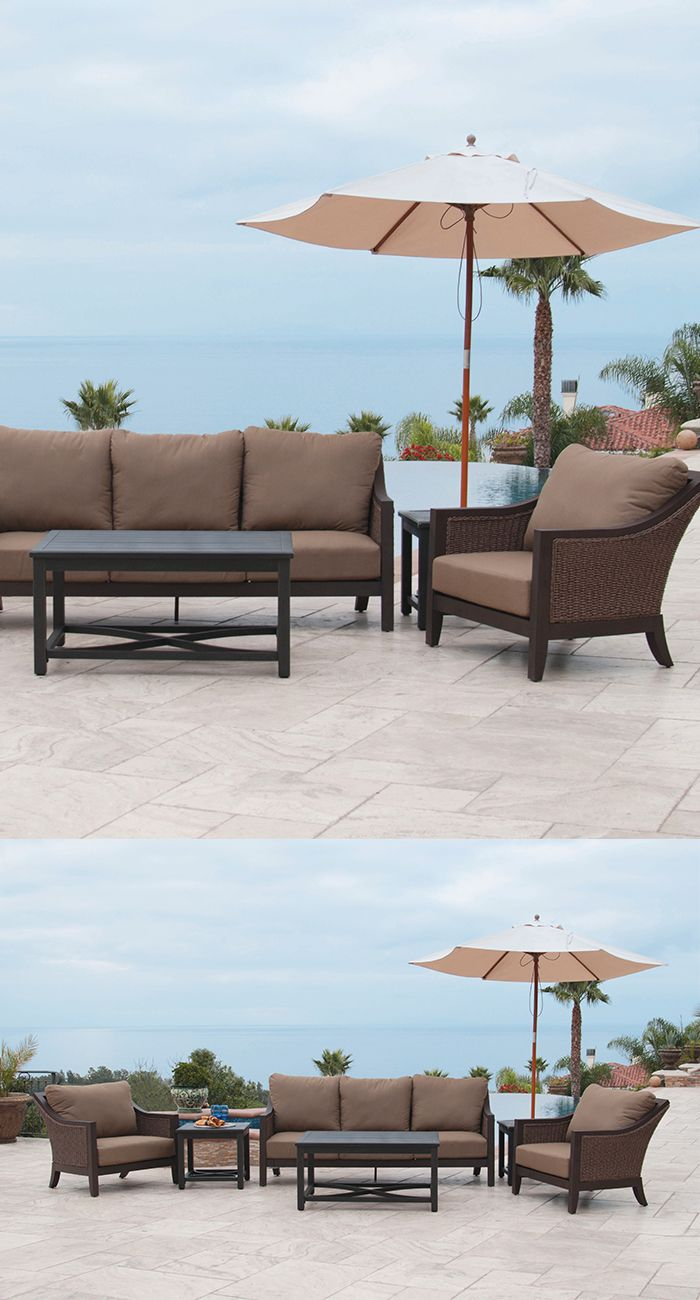 Sunvilla Biscay 5 Piece Deep Seating Sofa Set - Patio Furniture - Ideas -  Christy Sports - Patio Furniture - Outdoor Furniture - Dining Sets - Denver, Boulder