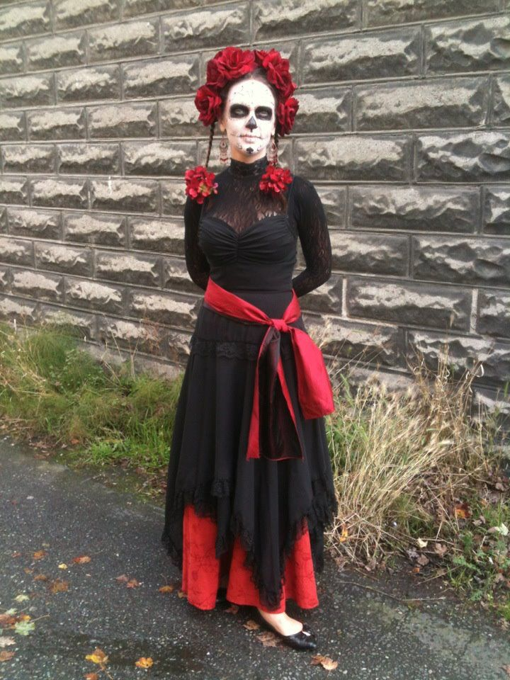 Day of the Dead ..this is gonna be my costume this year