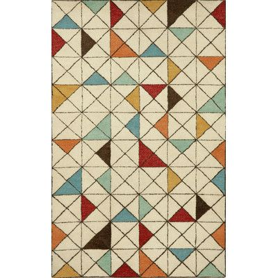 Found it at Wayfair - Fantasy Triangles Mod Area Rug