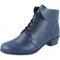 Photo of Rieker Y0711-14 ankle boots blue RiekerRieker