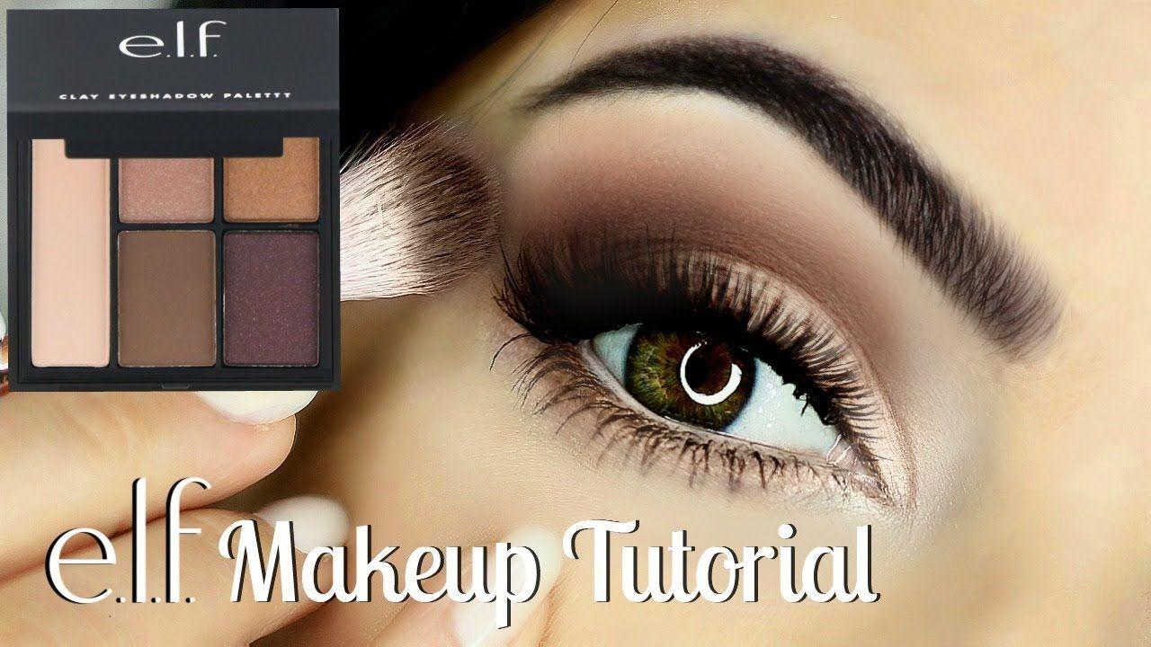 Beginners Eye Makeup Tutorial Using ELF Parts of the Eye