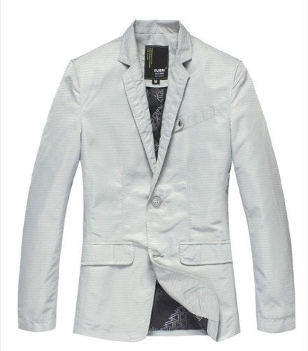 2 button casual formal suit jacket