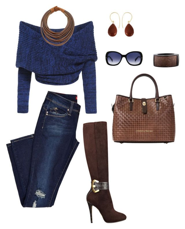 Guess by tina-pieterse on Polyvore featuring GUESS, Dooney & Bourke, Uzerai Edits, Brunello Cucinelli, Burberry and Lanvin