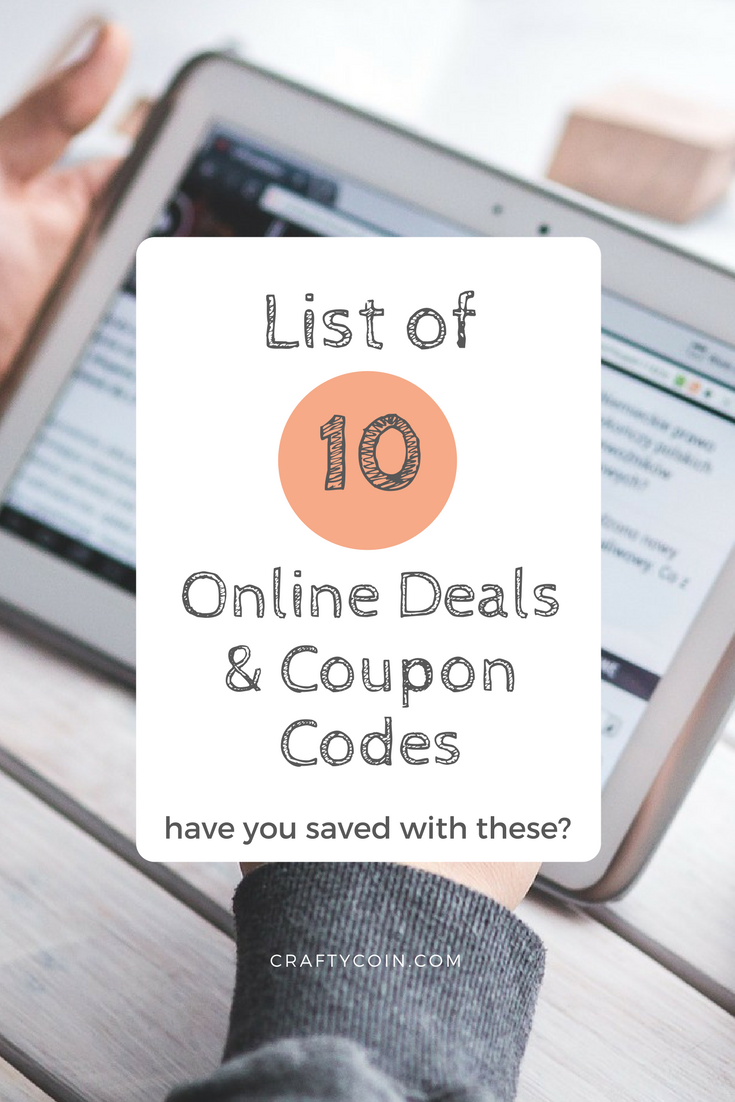 Here's a list of deals and coupon codes! Save money on Groupon, Uber, Airbnb, thredUP, Vitacost and more!