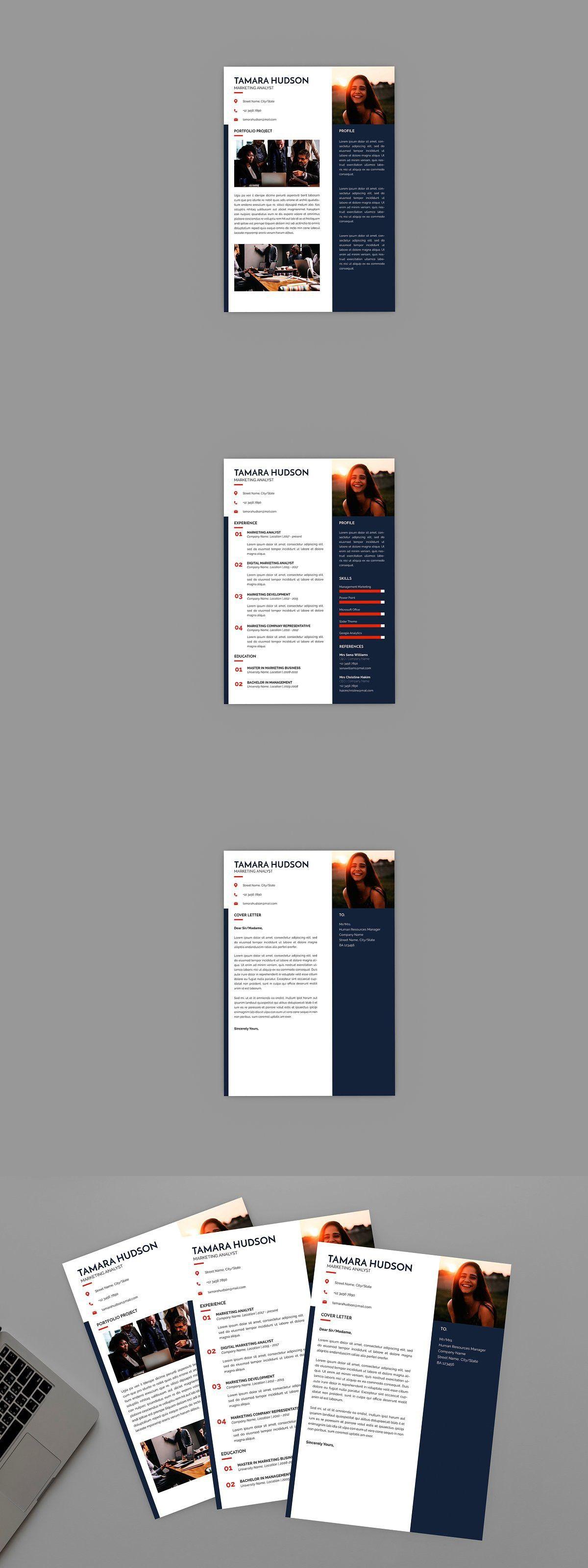 Marketing Analyst Resume Designer in 2020 Infographic