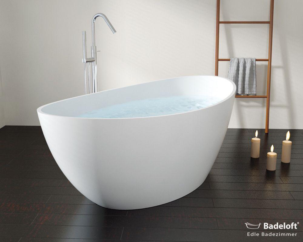 Freistehende Mineralguss Badewanne Bw 03 L Badewanne Freistehende Badewanne Eingebaute Badewanne