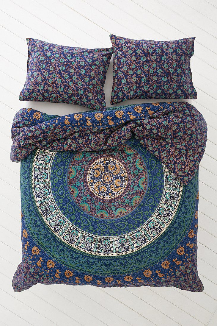 Magical Thinking Blue Medallion Comforter Magical Thinking