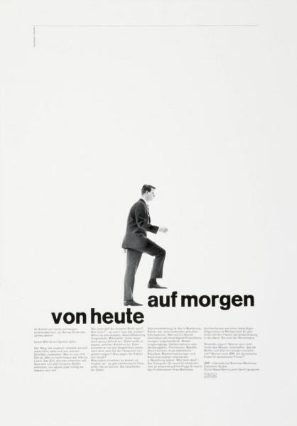 Karl Gerstner & Markus Kutter, 1960s •
