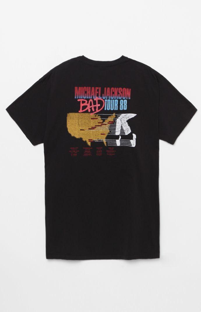 f8222c829 Michael Jackson Bad Tour T-Shirt | t o p s | s h i r t s | Tour t ...