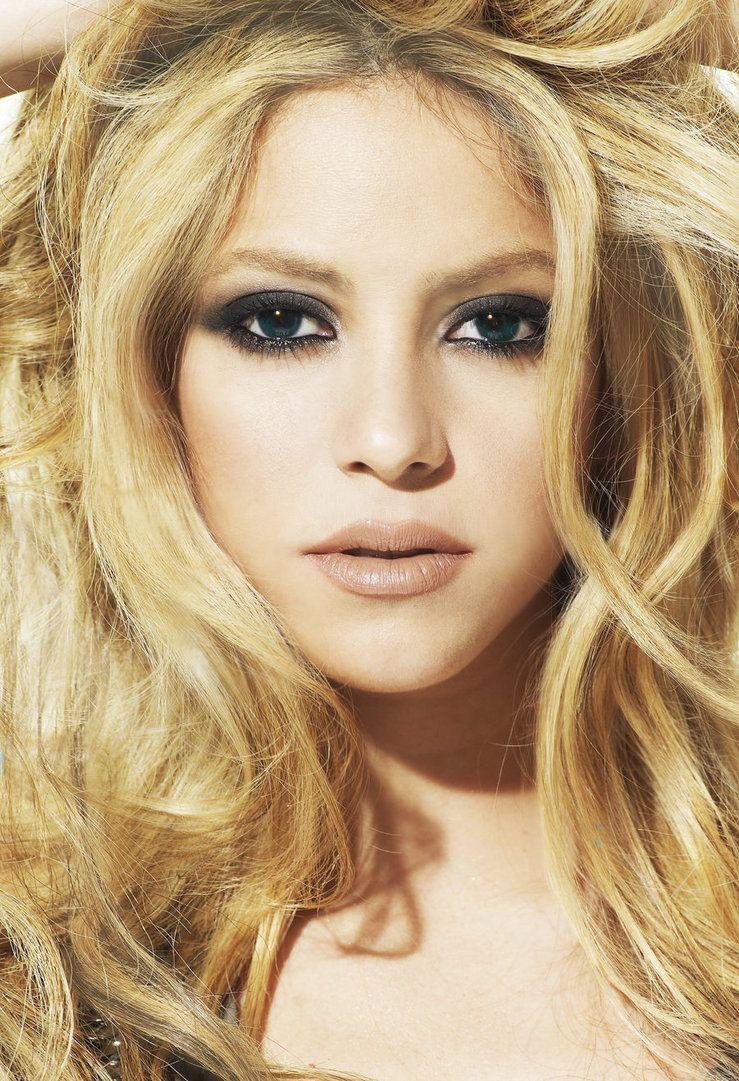 Shakira Columbian Beauty With A Voice Peinados Shakira