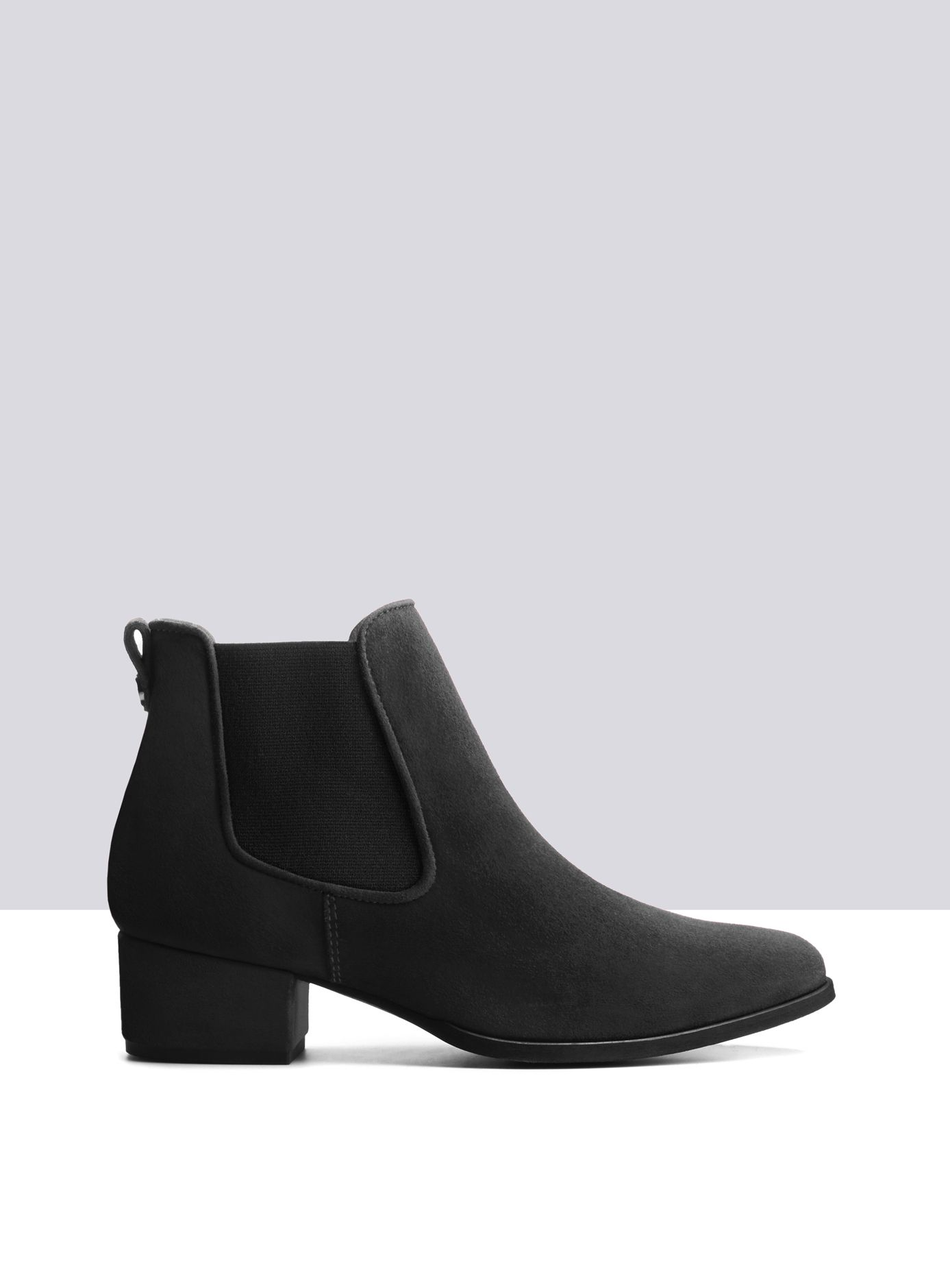 Pixie Black Suede ankle-boots small 1 | Chelsea boots | Pinterest ...