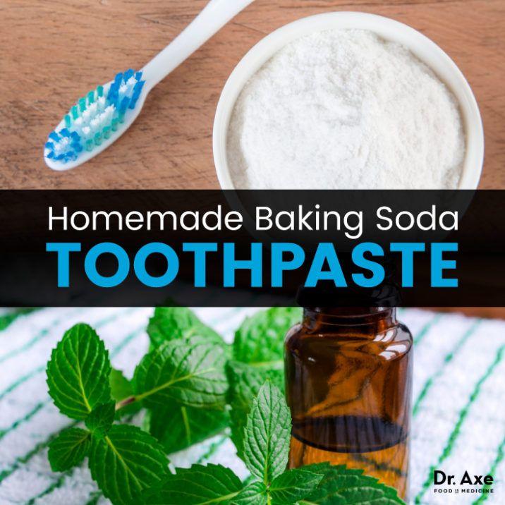 Homemade toothpaste - Dr. Axe