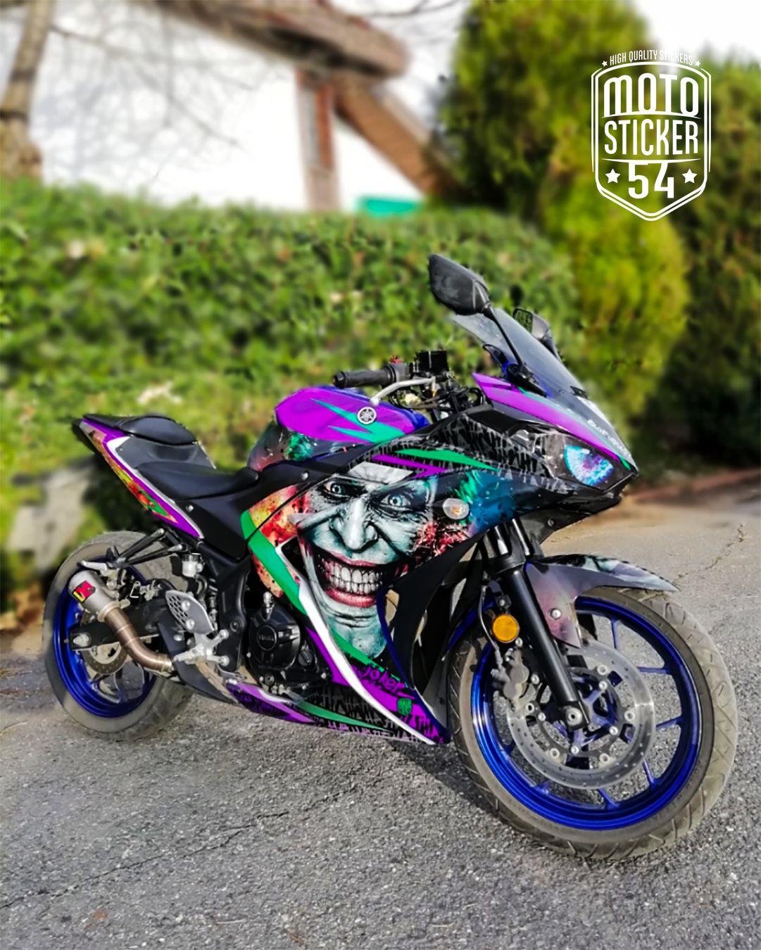 Joker Bike Custom Sticker