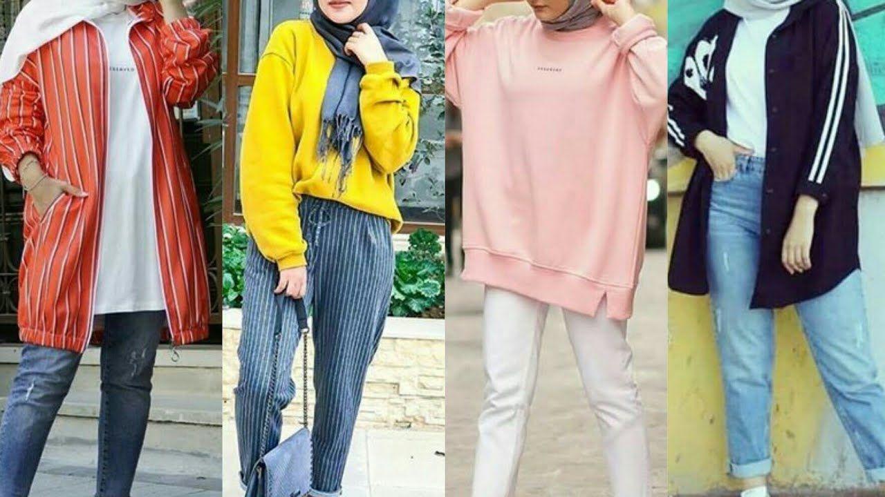 ملابس محجبات كاجوال 2019 Casual Hijab Fashion Style Fashion Women S Top Kimono Top
