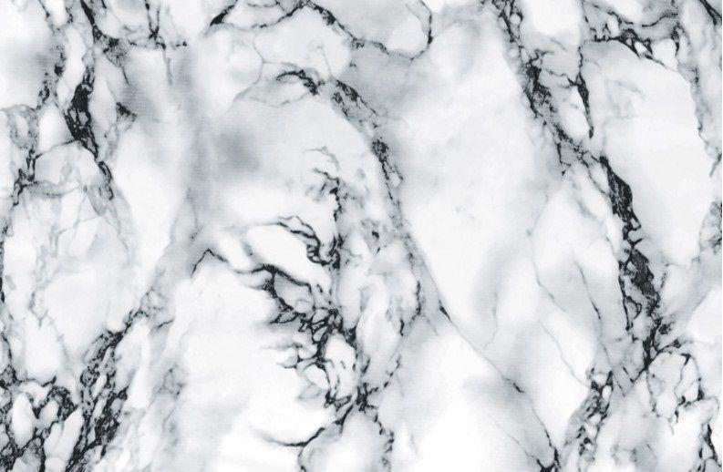 90cm Wide White Black Grey Marble Sticky Back Plastic Self