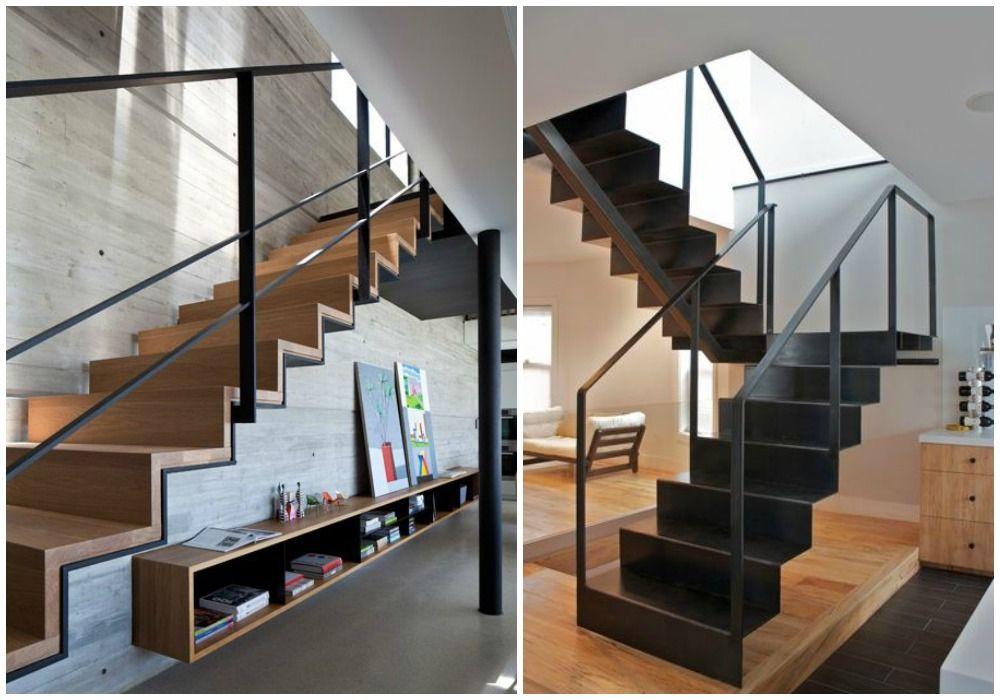 06 dise o de escaleras perfil ziz zag ligera arqui - Diseno de escaleras interiores ...