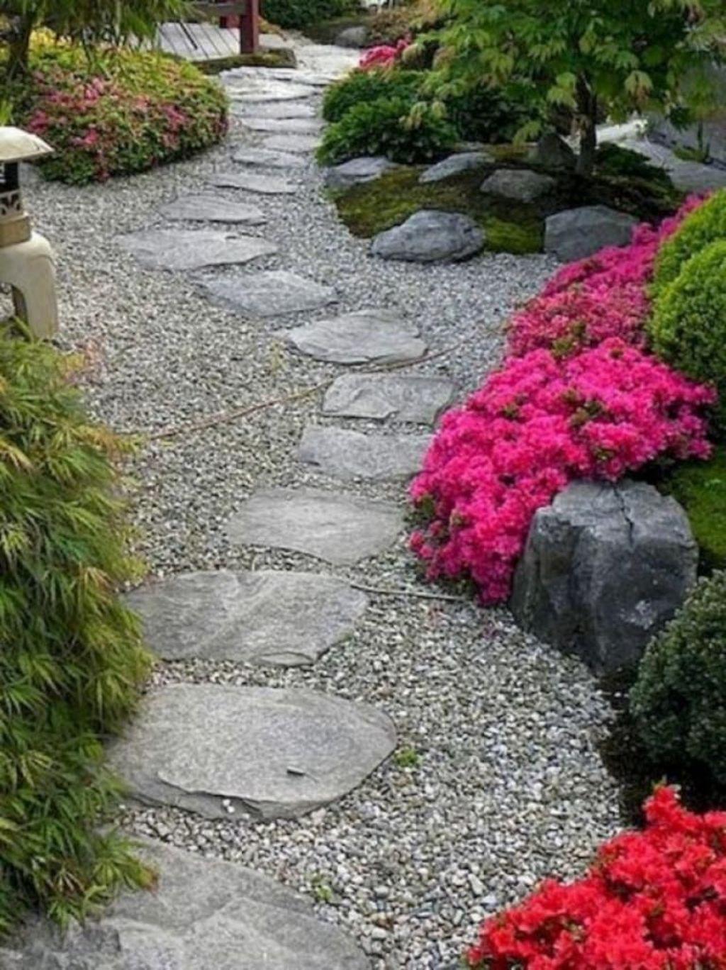 Photo of 35 Awesome Diy Garden Path Inspiration Ideas #asiangarden A garden just begs to …