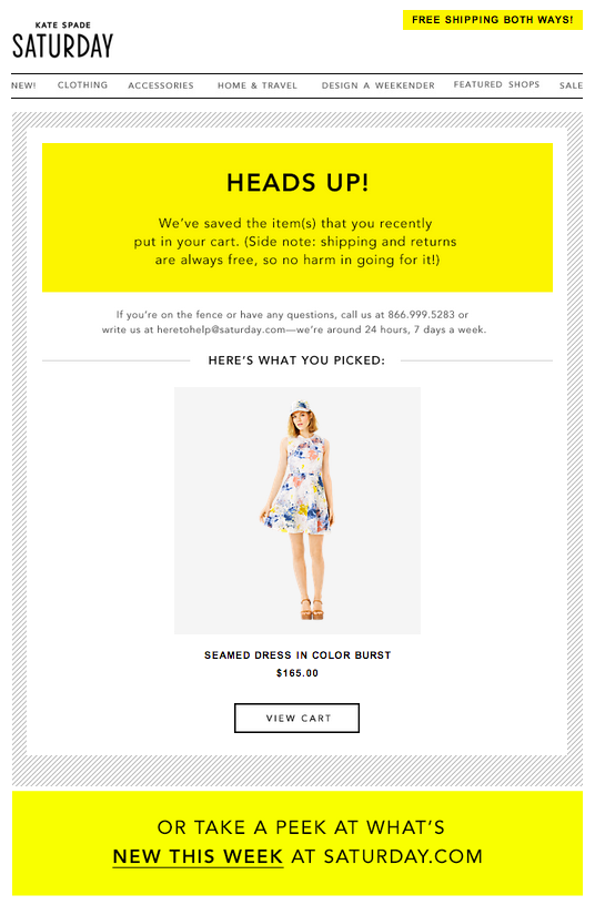 The Anatomy of a Winning Cart Abandonment Email (+ 9 Exceptional Examples)