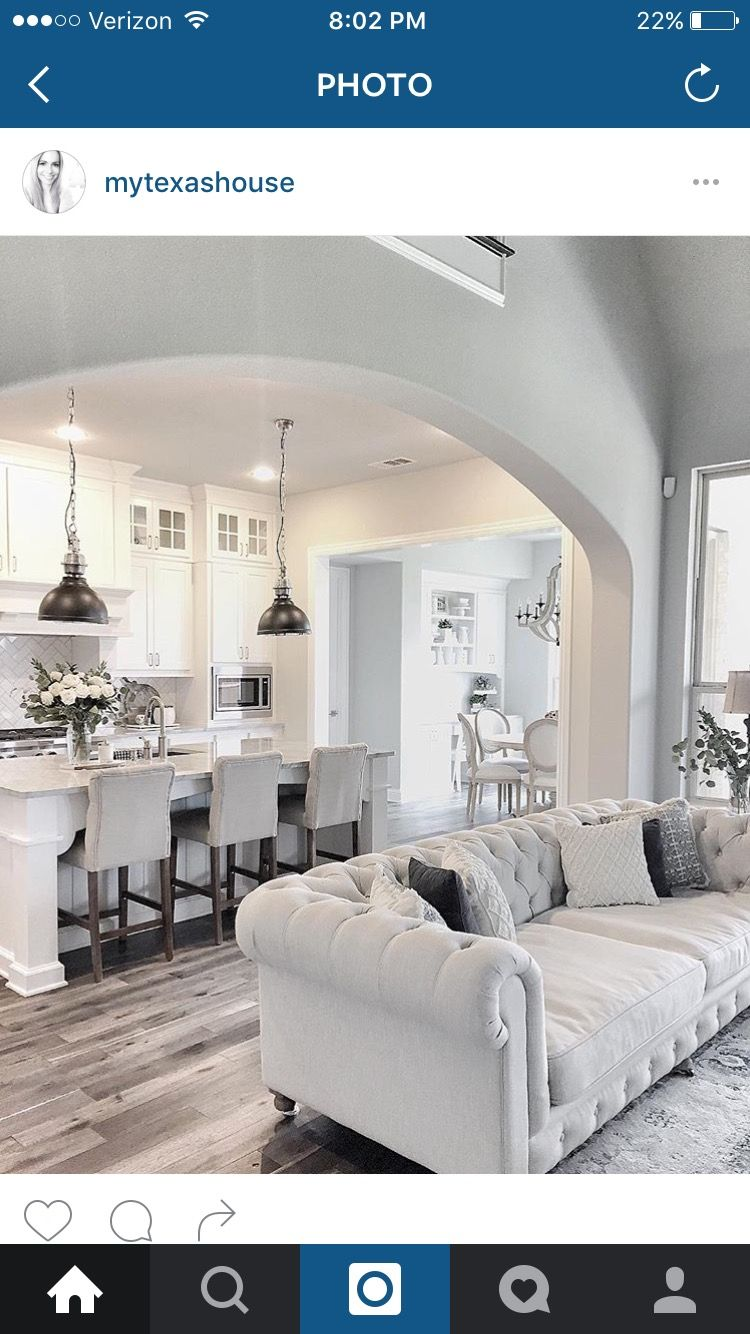 Layout, built in seating to left  Farm house living room, Cozy
