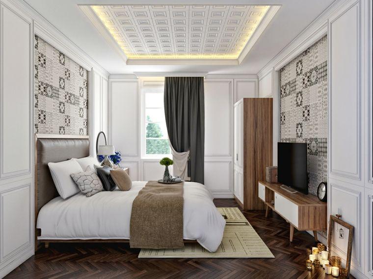 Dormitorios originales con iluminaci n brillante camas - Iluminacion dormitorios modernos ...