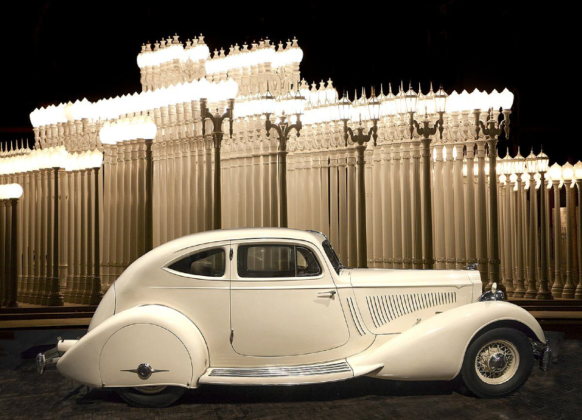 1934 Packard Twelve Model 1106 Sport Coupe By Lebaron ...