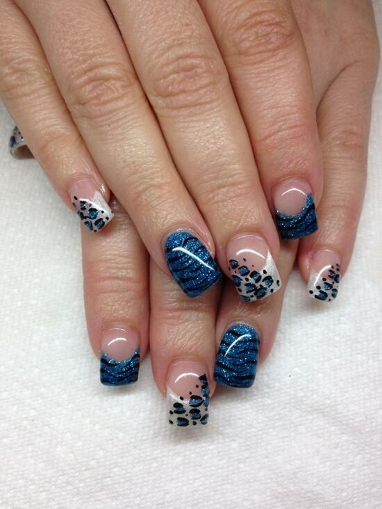 Latest gel nail ideas for winter 2018 winter nails pinterest 50 stylish leopard and cheetah nail designs for creative juice prinsesfo Image collections