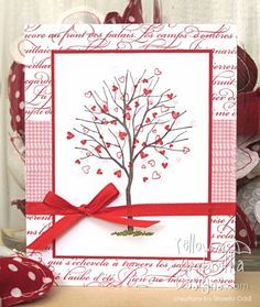 Wedding card idea??? Love grows. by Shaela - Cards and Paper Crafts at Splitcoaststampers