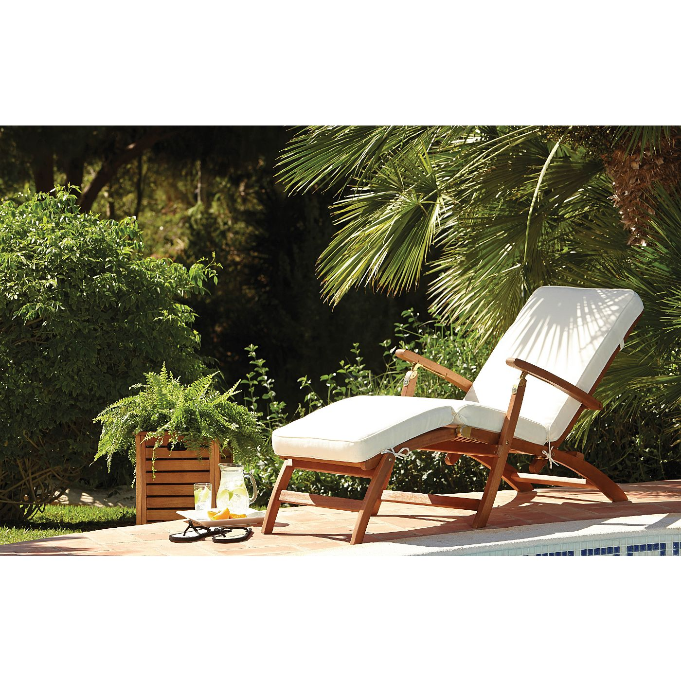 Sedona Steamer Lounger  Garden Furniture  ASDA direct  Garden